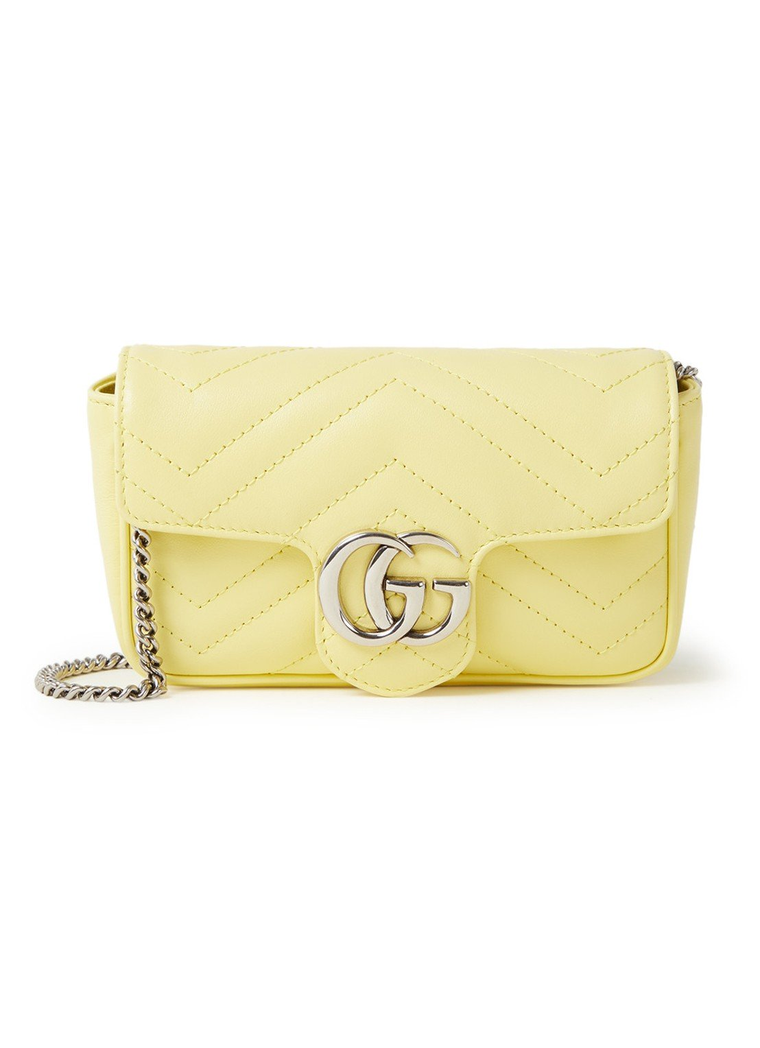 gucci marmont geel