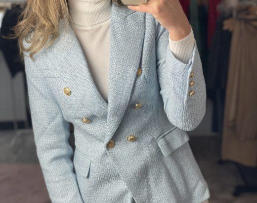 tweed blazer house of trends